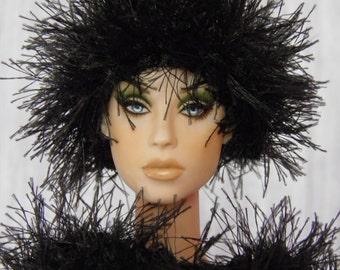"""for 16"""" Doll crochet Grass Set """"Black"""" - Tonner Peggy Antoinette Sybarite Gene - AllforDoll STYLE"""