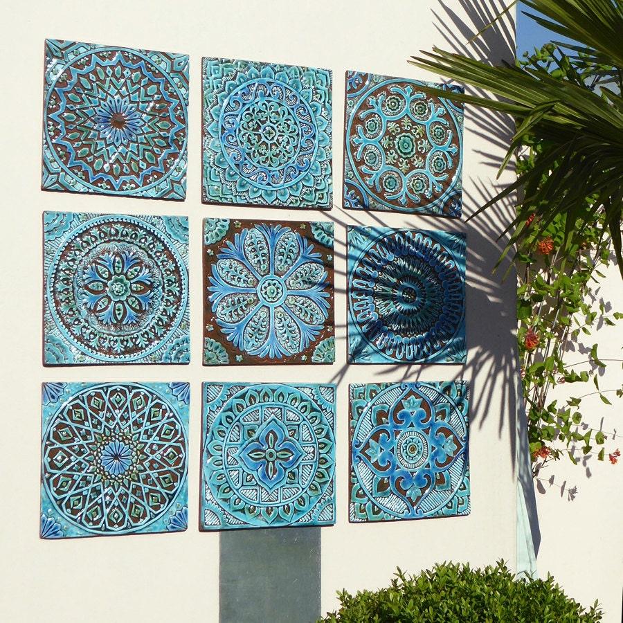 Outdoor Wall Art Garden Decor Abstract Art For Garden