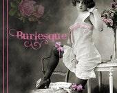 reserved custom order Etsy Banner profile banner shop info card Premade custom Etsy Store Front Burlesque