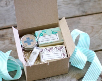 Double Soap Spa Set, Gifts for Her, Birthday Gift Idea, Coworker gift, sister gift, nurse gift, teacher gift, Spa Party Favor, Bachelorette