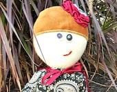 Fabric Doll, Handmade Doll, Cloth Dolls, OOAK