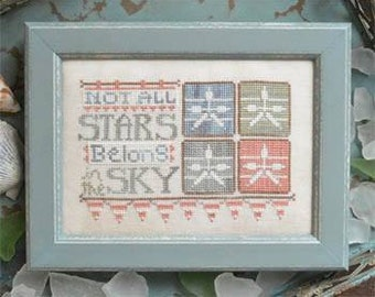 Stars in the Sky : Hands on Design Cathy Habermann counted cross stitch patterns beach ocean sea vacation hand embroidery