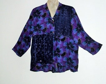 Boho Purple Shirt Black Friday Sale