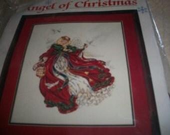 Angel of Christmas Cross Stitch Kit