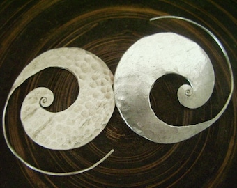 Silver earrings-The Silver One (18)