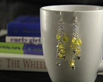 Shooting Stars Charm earrings