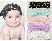 Top Knot headband, top knot headband baby girl, top knot, toddler retro head wrap, knot headband, Turban headband, Cotton headband,