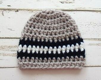 baby boy crochet hat, Baby Boy hat, baby hats, knit baby hat, Newborn, baby boy hat, baby, baby shower, new baby, Preemie