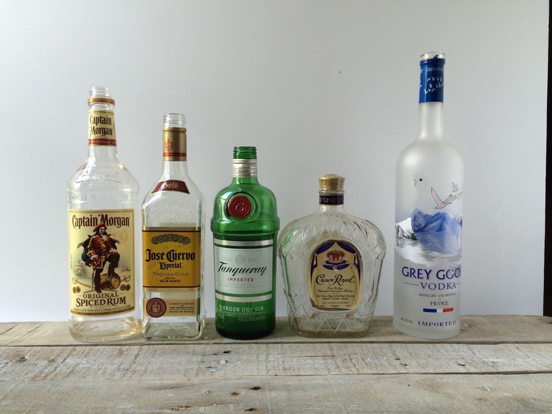 Empty liquor bottles - Uses for empty liquor bottles ...