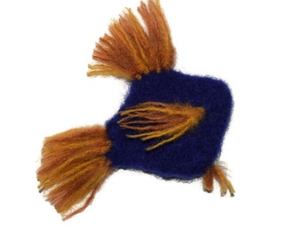 Cat Toy - Philayo - Catnip Toy Fish - Hand Knit Felted Organic Catnip Stuffed Fish - No Polyfil, Pure Catnip Stuffing