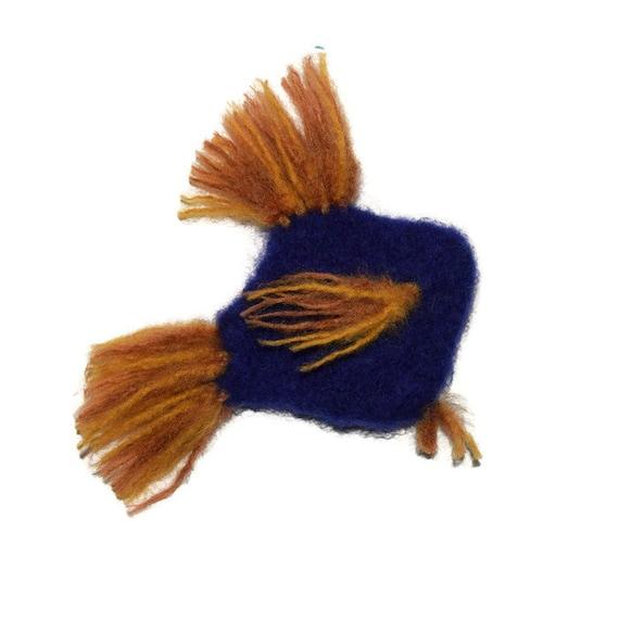 Philayo - Catnip Toy Fish - Hand Knit Felted Organic Catnip Stuffed Fish Cat Toy - No Polyfil, Pure Catnip Stuffing