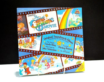 The Care Bears Movie Soundtrack Album by Kid Stuff 1985