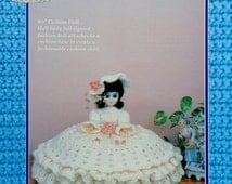 """20%OFF Td Creations CATHERINE 8"""" Cushion Doll - Crochet Doll Dress Clothes Clothing Pattern"""