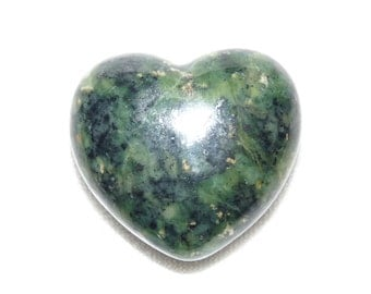 35 mm Premium Serpentine Mineral Heart