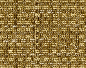 On Trend Solid Basket Weave Upholstery Fabric - Complex Novelty Yarns Create Depth and Body - Durable - Color: Ezy - Per Yard