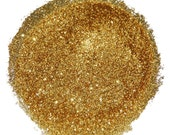 Bright Gold SOLVENT RESISTANT GLITTER 0.015 Hex - 1 Fl. Ounce for Glitter Nail Art , Glitter Nail Polish & Glitter Crafts