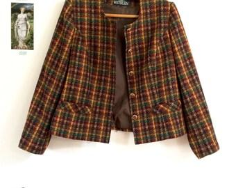 Veste en tweed vintage Anne Weyburn Paris