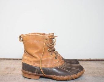 7 Ladies | Vintage LL Bean Duck Boots Maine Hunting Boot