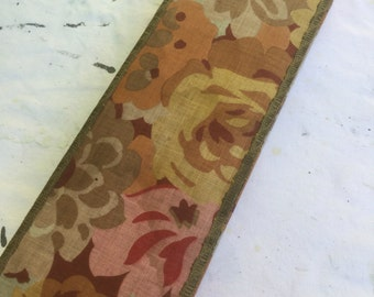 Vintage French fabric covered box