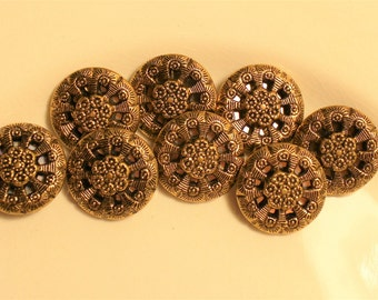 Twinkle Buttons, set of 8