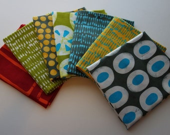 A Stitch in Color by Malka Dubrawsky for Moda - 7 Fat Quarters
