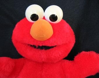 Vintage Tyco Elmo AND a Sesame Street TMX Tickle Me Elmo 10th Anniversary Edition Box