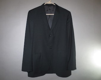 """1960's Men's Suit // Executeen for Bishops of Salem, Oregon // Smooth Front Pants w/adjustable Waist // Two Button Front Jacktet...33"""" waist"""
