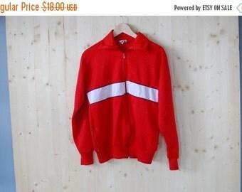 SALE Super Retro 80's Mens track jacket sports sweater Windbreaker