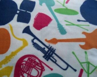 Musical Intruments! Fleece Blanket