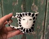 Super Wonky spotty cup - one of a kind