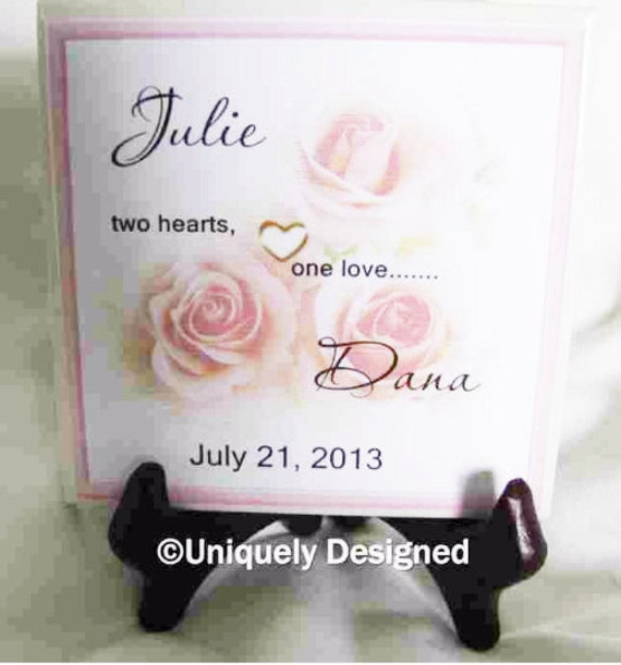 Great Wedding Gifts For Gay Couples : Gay wedding Gift Gay Marriage Gift tile great gift for