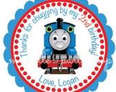 NEW - PRINTABLE, Thomas the Train Favor Tags