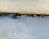 Oil Painting Original - 5 x 7 - Plains Morning, Christmas