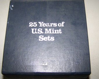 "Vintage ""25 Years of Mint Sets"" 1963-1987"