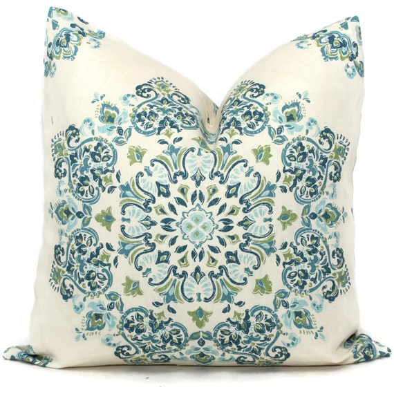 Decorative Pillow Covers Blue Green Aqua Medallion Toss. Teenage Room Decor. Mini Couch For Room. Wine Decorations. Room For Rent In Miami. Universal Lighting And Decor. Kmart Living Room Furniture. Country French Dining Room. Dining Room Dresser