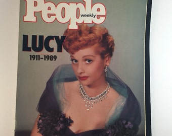 Weekly People Lucy 1989 Edition