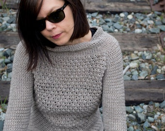 Crochet Pattern for Acute Sweater