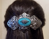 Large Barrette For Thick Hair / Womens Gift/ Handmade