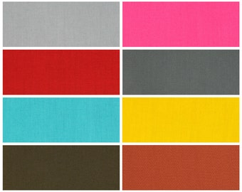 OUTDOOR Solid Pillow Covers 8 Different Colors Outdoor Solid Blue Red Pink Yellow Brown Grey Pillow Covers Choose Size