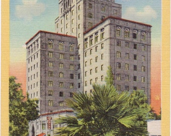 Phoenix, Arizona, Hotel Westward Ho - Linen Postcard - Unused (BB)