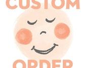 Custom Order for Christa