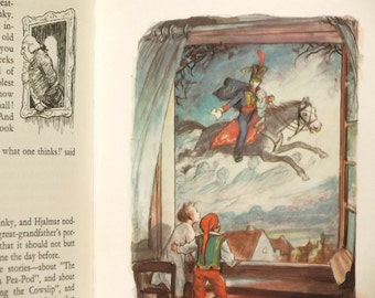 Vintage fairy tale book illustrated by Ernest H. Shepard Hans Andersen's Fairy Tales translated by L. W. Kingsland