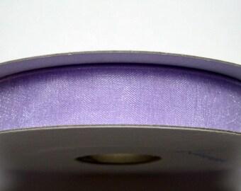 "3/8"" Organza Ribbon - Lavender - 25 Yard Spool of Organza"