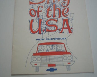 Sing-of-The-USA-with-Chevrolet-1964-Song-Book