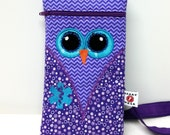 Purple Owl Medicine Pack / Epi-Pen Case / Diastat Case / Asthma Case / Purse