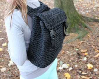 Paracord Backpack, 550 Cord Backpack,  Camping Gear, Bike Bag  in Black or REQUEST A COLOR