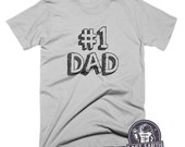 Best Dad T Shirt Gifts For Fathers Day Tshirts Funny Dad Tees Worlds Best Dad T-Shirt Funny T Shirts Presents Mens T Shirt Pun Shirt