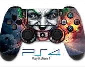 Joker Skin Batman Arkham Night PS4 Skin PS4 Controller Skin Wrap Sticker Playstation 4 Skin