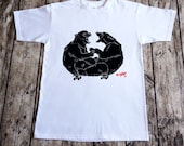 5412: Brookidlyn Tandem Skate Bears Adult T-Shirt