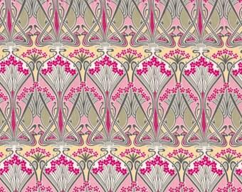 Fat eighth Ianthe B Liberty print, art nouveau swirling design Liberty of London tana lawn